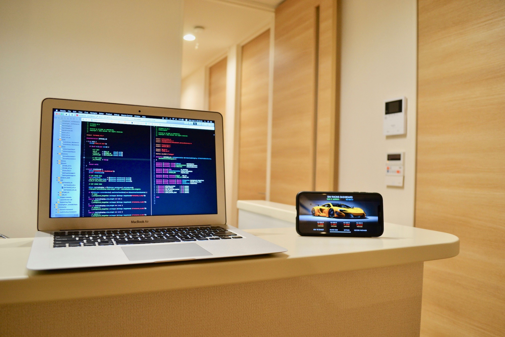 Sim Racing Dashboard iOS App - Source Code